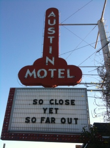 The Austin Motel - embracing the Austin weirdness for SXSW2013
