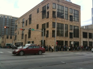 SXSW queues for mobile
